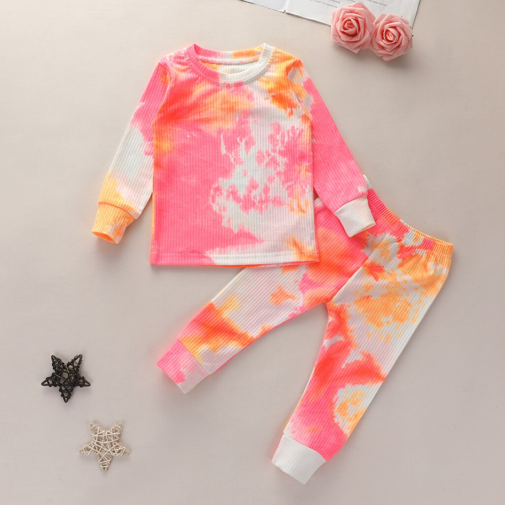 Toddler Tie-Dyed Pajama Set