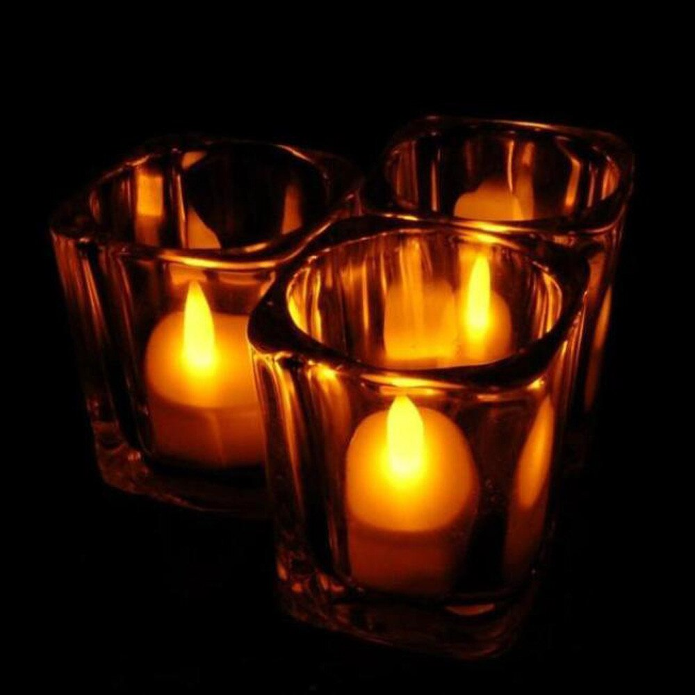 Reusable LED Tealight Candles (6 PCS)