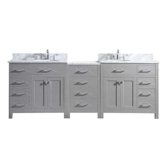 Virtu USA Caroline | Double Sink Vanity | Vanity Grace