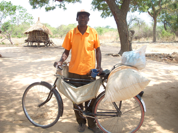 bicycles in zambia