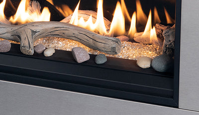 Direct-Vent Gas Fireplace - Contemporary – Linear