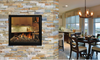 ZERO CLEARANCE DIRECT VENT SEE-THROUGH GAS FIREPLACE