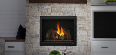 Direct Vent Gas Fireplace - Intellifire Touch Ignition System