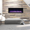 65″ Wide & Extra Tall Indoor or Outdoor Built-in only Electric Fireplace