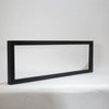 34″ Black Semi-Flush Mount Surround – for WM-34-B