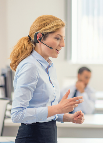 Forget about side-channels and off-shore call centers. We're right here for you.