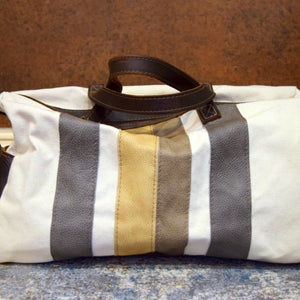 Canoe Canvas & Leather Bowling Bag