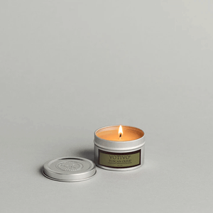 Tuscan Olive Travel Tin Candle