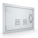 "14"" X 20"" Left  Swing Horizontal Vented Door"