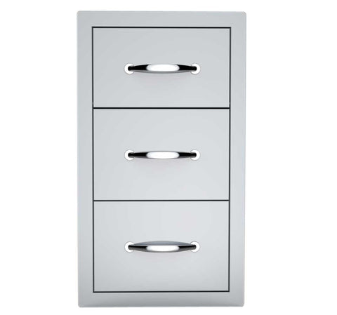 "17"" Double Drawer & Paper Towel Holder Combo"