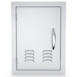"14"" X 20"" Left Swing Vertical Vented Door"