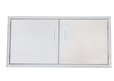 "42"" Beveled Frame Double Door"