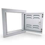 "12"" x 12"" Beveled Frame  Right Swing Single Door"