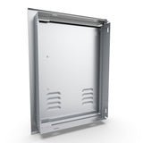 "14"" x 20"" Beveled Frame Left Swing Vertical Vented Door"