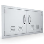 "36"" Vented Double Door Flush Mount"