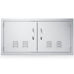 "42"" Vented Double Door Flush Mount"