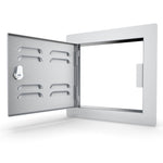 "12"" x 12"" Left Swing Vented Door"