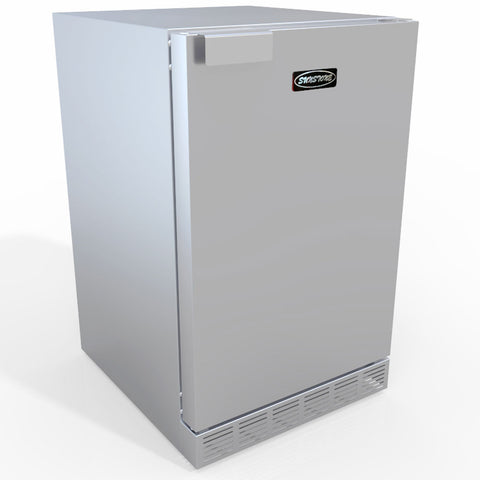 "21"" 304 Stainless Steel Outdoor Rated Refrigerator w/Enlarged Front Venting Fan & Compressor"