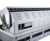 "Ruby 36"" 4 Burner Pro-Sear w/IR Burner & Rotisserie Motor, Rod Assembly w/LED Lights, High Heat Searing Grate  Propane"