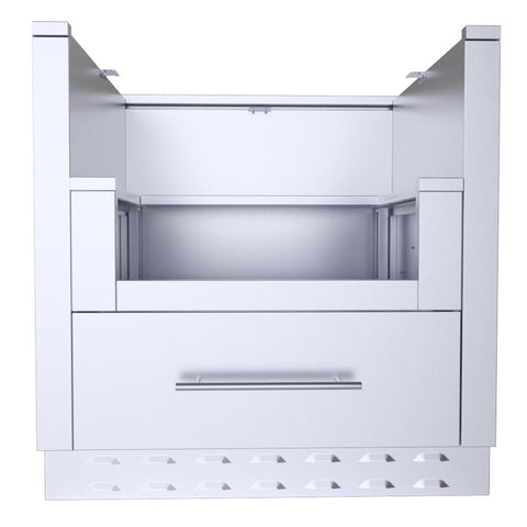 "33"" Power Burner Cabinet"