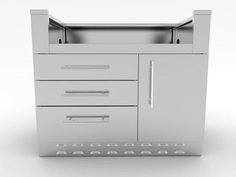 "40"" Sunstone Gas Grill Base Cabinet"