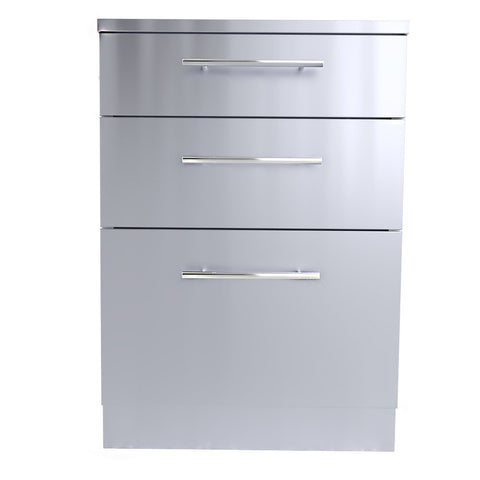 "24"" Large Triple Drawer Base Cabinet"