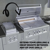 "Companion Pro 13"" Cooking Grates & Flavorizer Rack w/LED Accent Light  Propane"