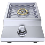 "Ruby Series 13"" Counter-top or Drop-in Versa Single Burner Propane"