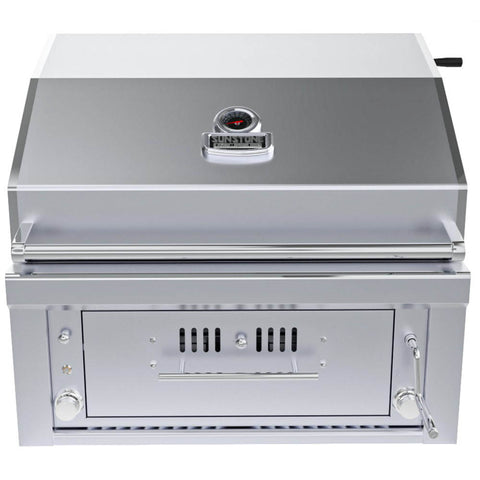 "Sunstone 30"" Gas-Hybrid 2 Main Burners  w/IR-Burner Charcaol/Wood Burning Grill Natural Gas"