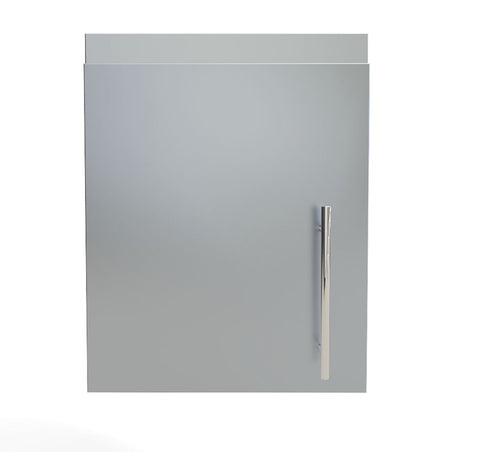 "18"" Upper Wall Left Swing Door Cabinet"