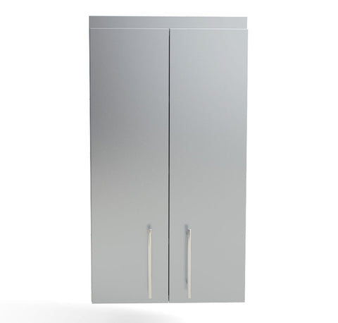 "24"" Full Height Double Door Cabinet w/Four Shelves"