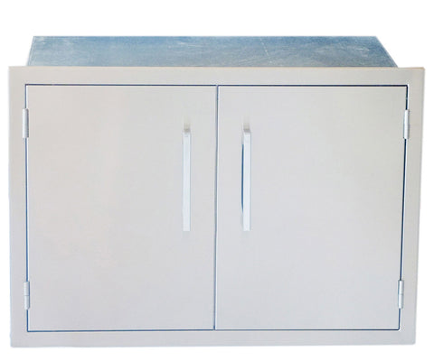 "30"" Weather Sealed,Beveled Frame Dry  Storage Pantry (Assembly Required)"