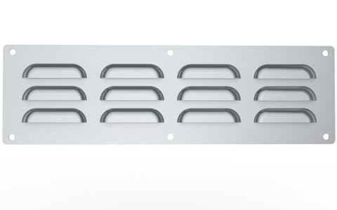 "15""x 4-1/2""Stainless Steel Venting Panel"