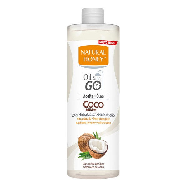 Aceite Corporal Oil & Go Natural Honey Hidratante Coco (300 ml)