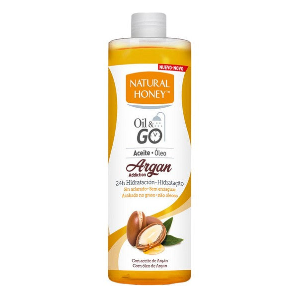 Aceite Corporal Oil & Go Natural Honey Hidratante Argán (300 ml)