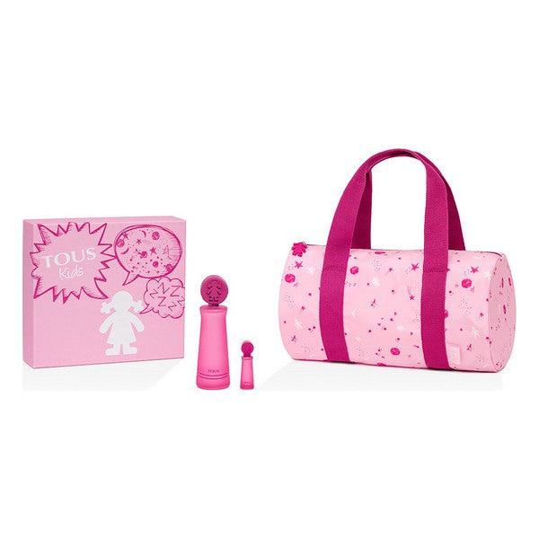 Set de Perfume Infantil Kids Girl Tous EDT (3 pcs)