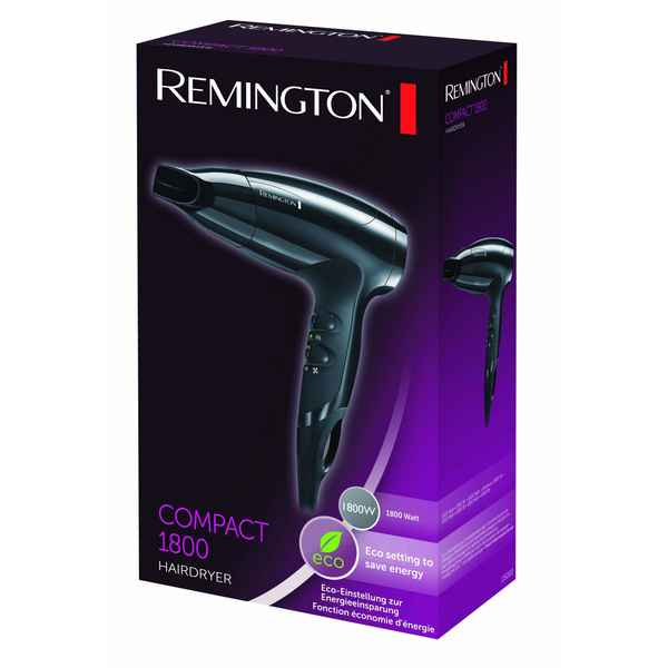 Secador de Pelo Remington Compact 1800 (Reacondicionado C)