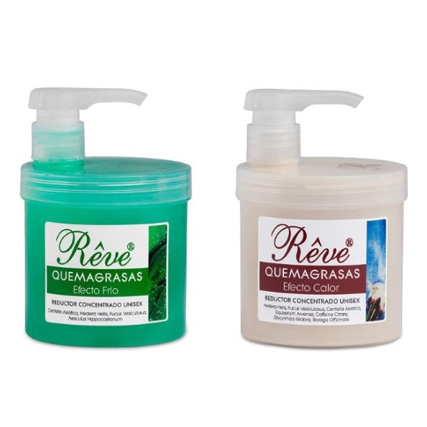 Quemagrasas Rêve Reafirmante (2 x 500 ml) (Reacondicionado A+)