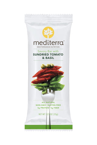 Savory Bar with Sundried Tomato & Basil
