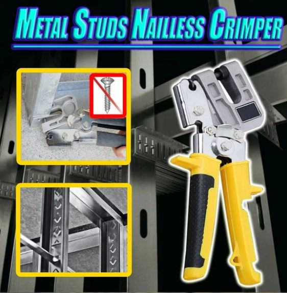 Metal Studs Nailless Crimper(Free shipping + COD)