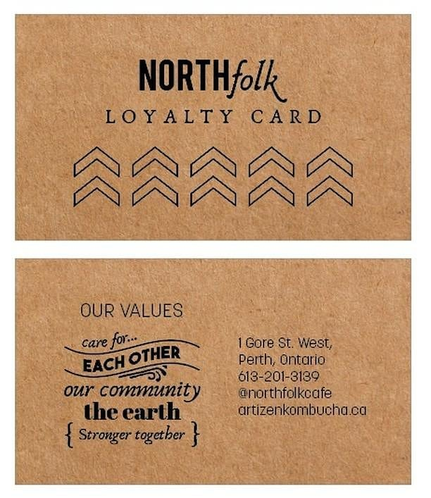 Loyalty cards for North Folk coming soon!