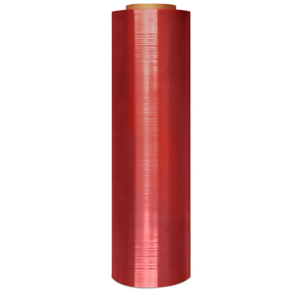 Pink Antistatic Machine Stretch 40 Rolls/Pallet