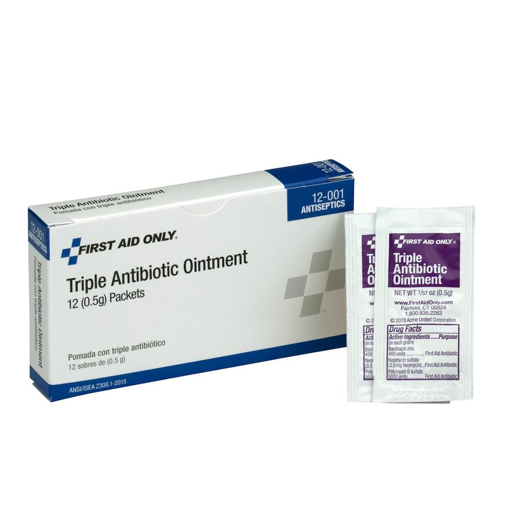 Triple Antibiotic Ointment, 12/box