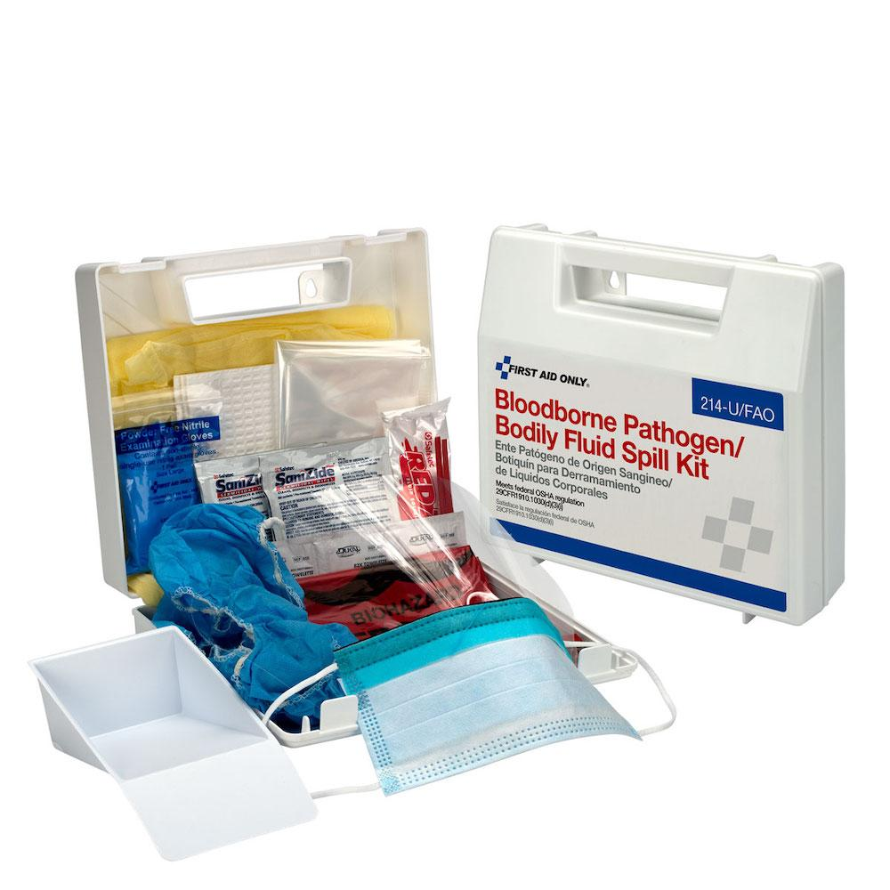 BBP Spill Clean Up Kit, Plastic Case
