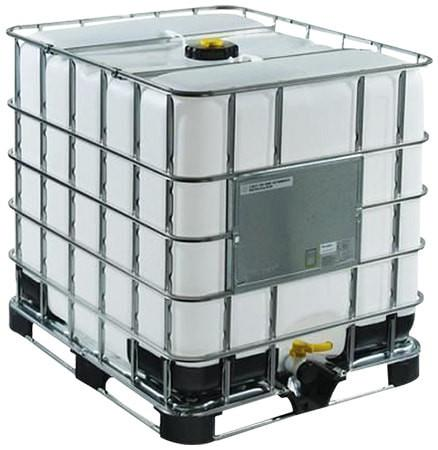 275 Gallon Plastic Tote with Metal Cage