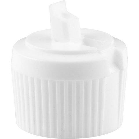 28 MM Threaded White Spouted Cap