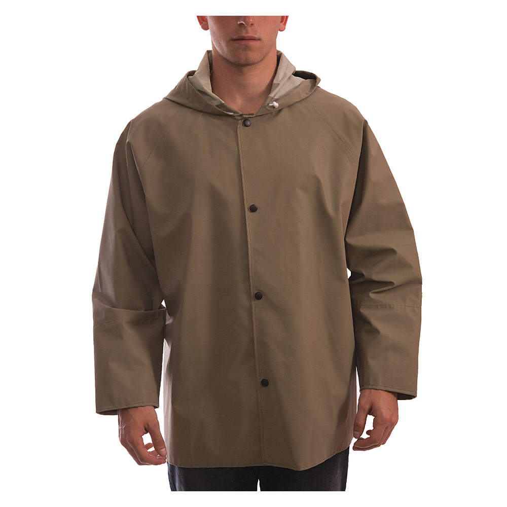 Tingley Flame Resistant Rain Jacket Neoprene Tan