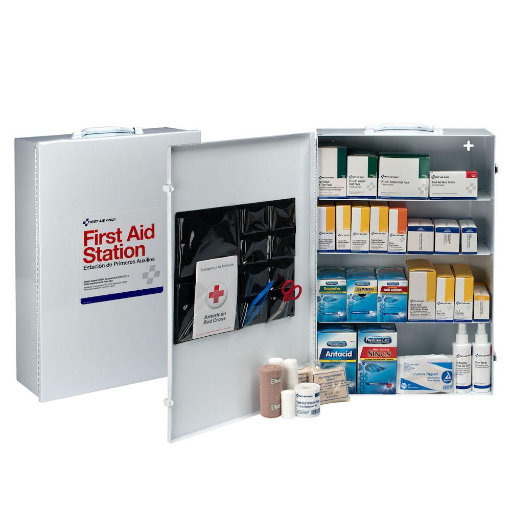 4 Shelf First Aid Metal Cabinet
