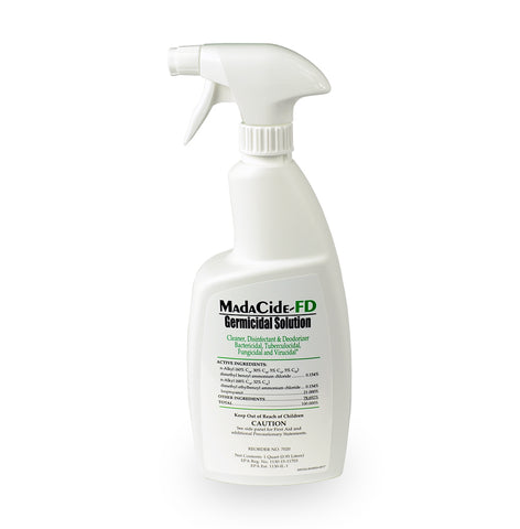 7020 MadaCide-FD Disinfectant Cleaner Spray 12/Case