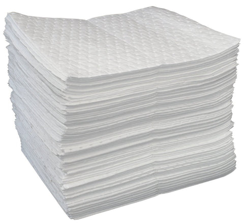 OIL ONLY ABSORBENT PAD 100/BALE  15X17""